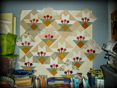 Cactus Basket Blocks are Almost Done
