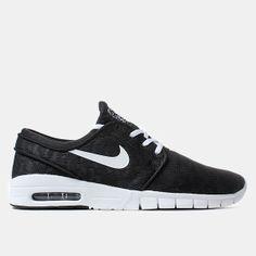 Nike Sb Stefan Janoski Max Shoes - Black white Nike Sb af294b0a7d164
