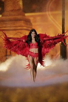 Pin for Later: 16 Years Later, and Adriana Lima Is Still One Seriously Sexy VS Angel 2013