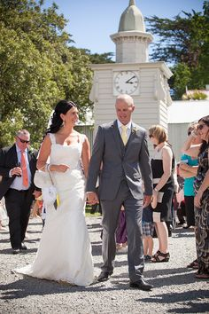 Bride and Groom By Tessa Burrows Photography
