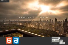 Remedy One/Multi Page HTML Template by earthquake on @creativemarket