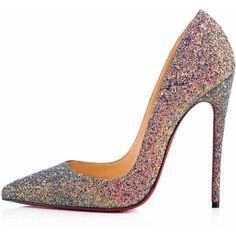 So Kate Dragonfly Glitter 120 ETINCELLE Glitter - Women Shoes -... ❤ liked on Polyvore featuring shoes, pumps, christian louboutin stilettos, stiletto pumps, glitter shoes, pointed toe stiletto pumps and pointed toe stilettos