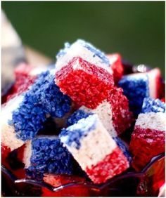 welcome home military party ideas | RICE KRISPIES!! 15 Easy Patriotic Food Ideas
