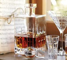 how whiskey should be served (from #potterybarn)