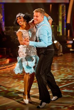 Karen Hauer, Nicky Byrne - Strictly Come Dancing BBC - Photographer: Guy Levy