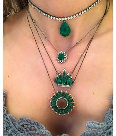 Compre Colar mandala esmeralda com rodio negro semi joias finas na Waufen ✓ Semjoias Finas ✓ Ótimos Preços ✓ Entrega Rápida e Segura ✓ Pgto em até 12 Vezes