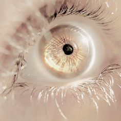 Crystal eyes | World building inspiration | Fantasy character eye | Snow witch | Enchanted eye | Pale iris