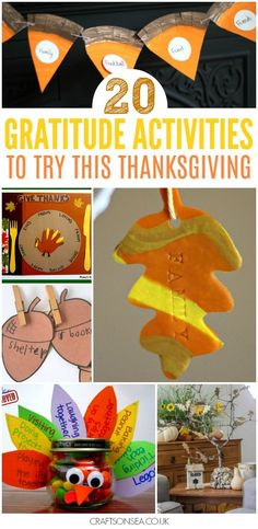 Let's all take the opportunity to be more thankful! 20 Fantastic gratitude activities for kids with ideas for Thanksgiving or the whole year round. #thanksgiving #thankful #thanksgivingactivities #kidsactivities