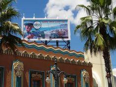 Hollywood Studios - Vintage Hess Billboard - PassPorter.com