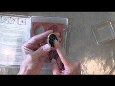 Help with Stampin Up! Clear Mount Stamps - get them to stick! - YouTube