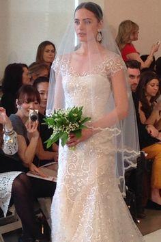 Oscar de la Renta - New York Bridal Market - Spring 2015