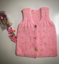 Alize gebreid baby vest – handgemaakte hobby's – Juegos Easy Baby Knitting Patterns, Hand Knitting, Crochet Patterns, Origami Fashion, Simple Cross Stitch, Diy Origami, Moda Emo, Hobbies And Crafts, Blog