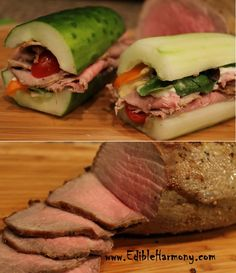 cucumber sandwhich recipe, low carb use instead of bread