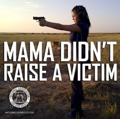 Gun ads target women with the promise that gun ownership counteracts victimhood.... BUT A WOMAN IS 500% MORE LIKELY TO BE KILLED WITH A GUN IF A GUN IS KEPT IN THE HOUSEHOLD.  Sad.