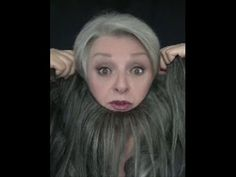 Extensions for Gray Hair - B - YouTube
