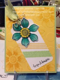 I love these tag cards! I used some tone on tone stamping to give the background a little more interest before running it through my big shot with the large polka dot embossing folder. I love this ...