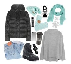 """""""Untitled #399"""" by ansavushkina ❤ liked on Polyvore featuring NIKE, Valentino, Columbia, Vince, Faliero Sarti, Levi's, C.C Cheveux, Movado and The Created Co."""