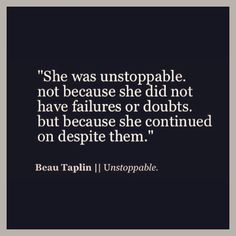 Beau Taplin || Unstoppable