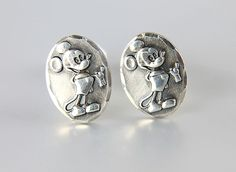 Mickey Mouse sterling silver Earrings