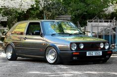 just loved my Ghost Grey VW Golf GTi mk 2, 16v. Thought I was everyone driving that!