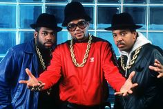 """In the hip hop fashion was massive. Run DMC released there tune """"My Adidas"""" making such an impact that Adidas is now always associated with hip hop & hip hop fashion. Hip Hop Christmas Songs, Favorite Christmas Songs, 1980s Christmas, Christmas Hats, Funny Christmas, Slider Buns, Black Eyed Peas, Run Dmc Costume, Jam Master Jay"""