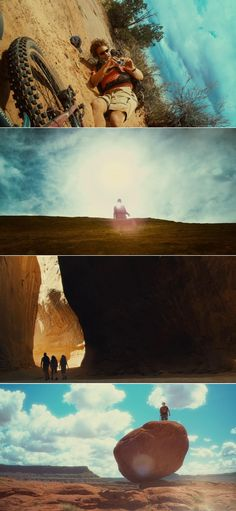 127 Hours (2010) |cinematography by Anthony Dod Mantle and Enrique Chediak | directed by Danny Boyle
