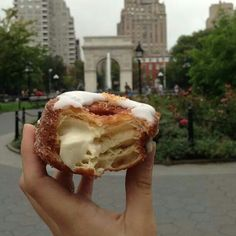 Must go to NYC and try a cronut! I wonder how many calories on in one of these...