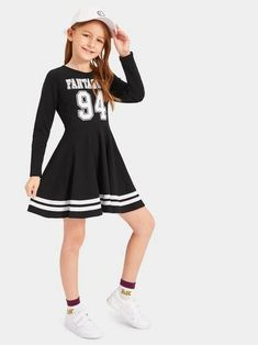 Cute Girl Outfits, Kids Outfits Girls, Cute Outfits For Kids, Cute Casual Outfits, Girls Dresses, Preteen Girls Fashion, Girls Fashion Clothes, Teen Fashion Outfits, Girl Fashion