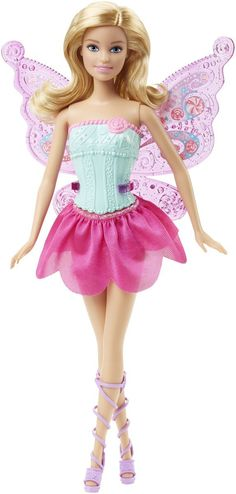 Amazon.com: Barbie Fairytale Dress Up Barbie Doll: Toys & Games