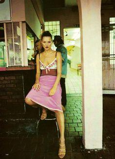 """""""Our Girl in Havana"""" by Drew Jarett for Allure, April 1997"""