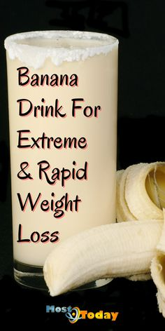 Weight Loss Meal Plan, Weight Loss Drinks, Weight Loss Smoothies, Healthy Weight Loss, Healthy Foods To Eat, Healthy Drinks, Healthy Recipes, Best Fat Burning Foods, Banana Drinks