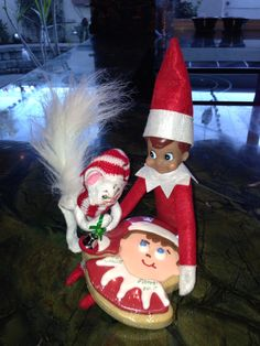 "Elf on the shelf ""Elfman"""