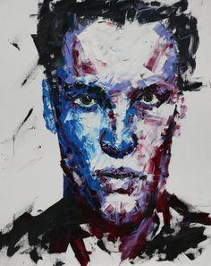 stranger 91.0*72.8cm oil on canvas