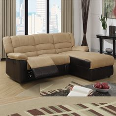 best reclining sectional sofas for small spaces