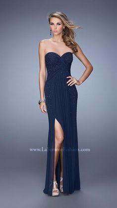 La Femme 21235 | La Femme Fashion 2015 - La Femme Prom Dresses - La Femme Short Dresses