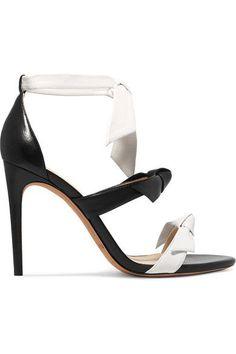 Alexandre Birman - Lolita Bow-embellished Leather Sandals - Black - IT37.5
