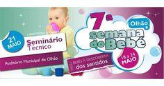 """7ª Semana do Bebé de Olhão """"Bebés à descoberta dos sentidos""""! - Algarlife"""
