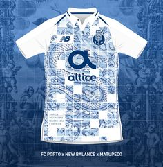 Stunning Porto Concept Kit By Matupeco Gets Produced By Fakers - Footy Headlines Sports Shirts, Sports Apparel, Latin Mottos, Fc Porto, Soccer Kits, Apparel Design, Sport Outfits, Jersey Designs, Concept