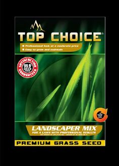 Top Choice 17625 3-Way Perennial Ryegrass Grass Seed Mixture, 10-Pound, 2015 Amazon Top Rated Grasses #Lawn&Patio