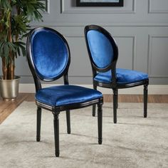 Set Of 2 Camille New Velvet Dining Chair - Christopher Knight Home : Target