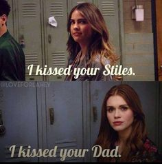 Lol peter & Lydia teen wolf
