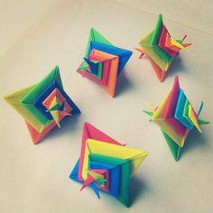 Modular Origami Spiral