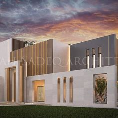 As we have been well known for creative doors and main entrance , we present a New design today , where the main entrance materials and cut… House Fence Design, House Main Gates Design, Front Gate Design, Gate Designs Modern, Modern Villa Design, Modern House Facades, Modern Architecture House, Compound Wall Design, Classic House Exterior