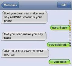 I can make you say Red