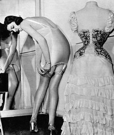 The Crazy Things We Did to Be Beautiful | From airless bonnets to dimple-makers, these products are thankfully long gone | Corsets and Girdles Long before you could slip into a  pair of Spanx or other relatively comfortable shapewear, you could tie, hoist, clip and stuff yourself into a corset or girdle. Breathing not included. Photograph by Kurt Hutton/Getty Images
