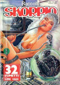 Fumetti EDITORIALE AUREA, Collana SKORPIO RACCOLTA n°166