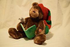 2008 GUND 88754 Story Time Bear Animated Plush - Twas the Night Before Christmas #Gund #Christmas