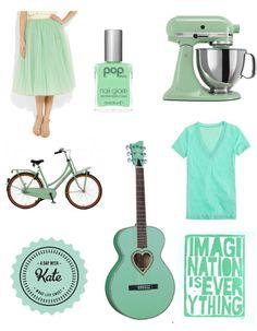 Mint Green!