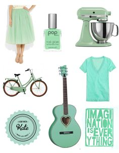 Mint green is catching my eye lately. Think it might be my favorite color this spring.