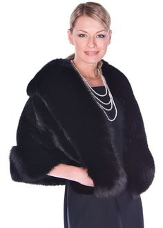 A stunning mink cape trimmed in luscious fox is a gorgeous finishing touch for every elegant event! Feel pampered and precious in this lovely fur wrap in a Fur Trimmed Cape, Fur Cape, Winter Poncho, Mink Jacket, Cashmere Cape, Poncho Coat, Cute Coats, Fur Clothing, Madison Avenue